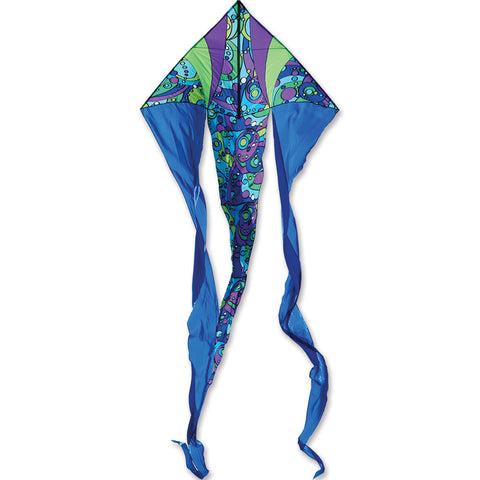 6.5 ft. Flo-tail Kite - Cool Orbit