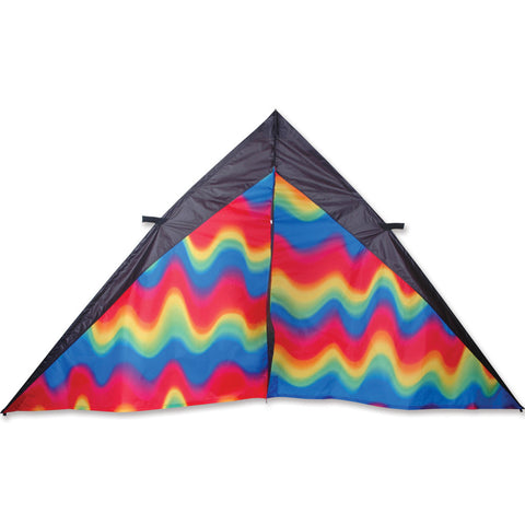 9 ft. Delta Kite - Wavy Gradient