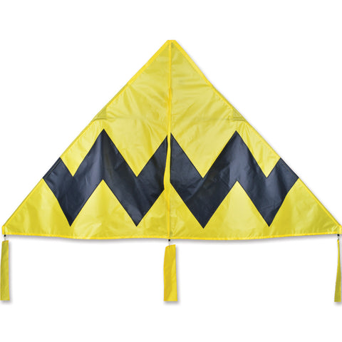 X-Delta Kite - Yellow Chevron