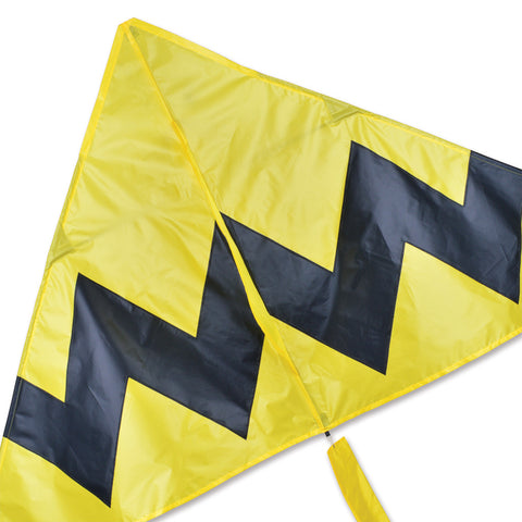 6.5 ft. Delta Kite - Yellow Chevron