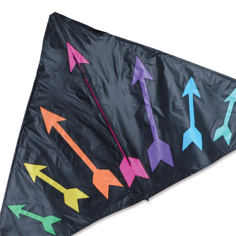 6.5 ft. Delta Kite - Rainbow Arrows