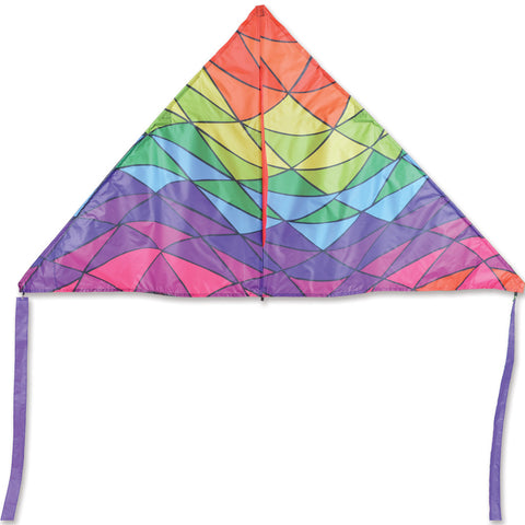 6.5 ft. Delta Kite - Rainbow Triangles