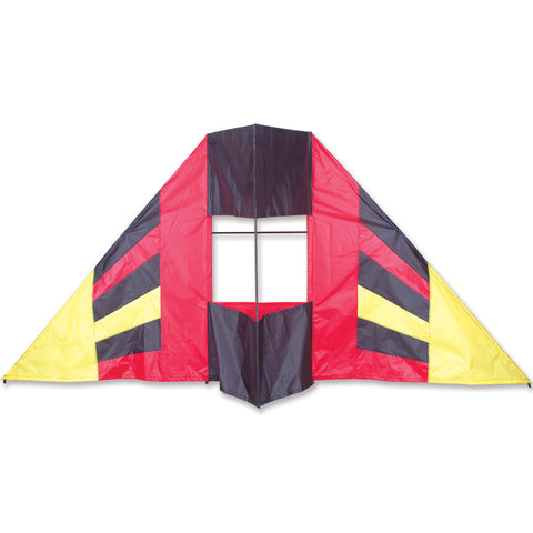 7.5 ft. Box Delta Kite - Red Flair