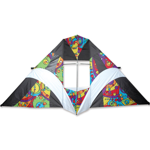 12 ft. Box Delta Kite - Rainbow Orbit