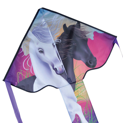 Regular Easy Flyer Kite - Horses