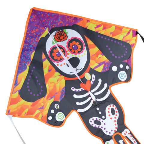 Large Easy Flyer Kite - Day of the Dead Dog