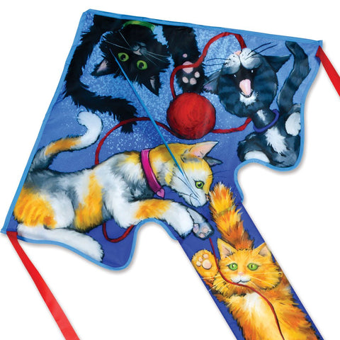 Lg. Easy Flyer Kite - Cats