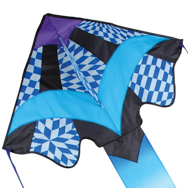 Large Easy Flyer Kite - Cool Op-Art