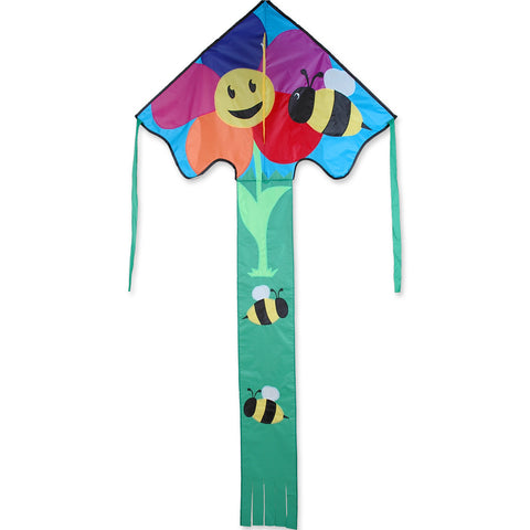 Lg. Easy Flyer Kite - Bee & Flower