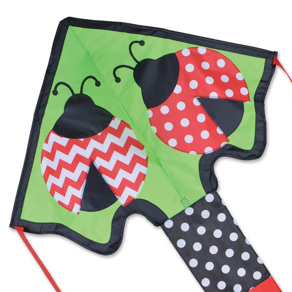 Large Easy Flyer Kite - Lively Ladybugs