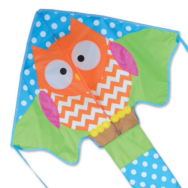 Large Easy Flyer Kite - Ollie Owl