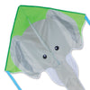 Large Easy Flyer Kite - Gray Elephant