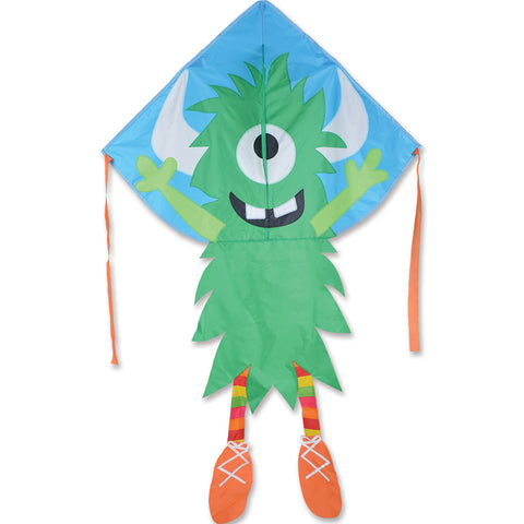 Lg. Easy Flyer Kite - Green Monster
