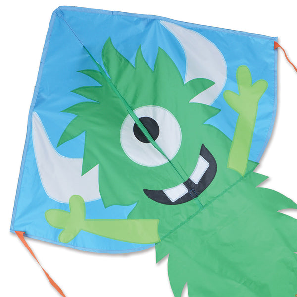 Large Easy Flyer Kite - Green Monster