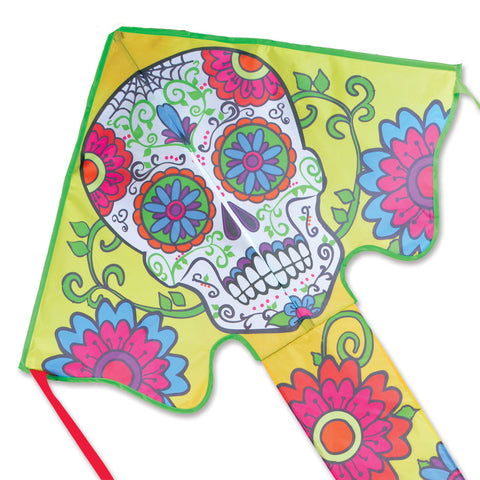 Large Easy Flyer Kite - Sugar Skull