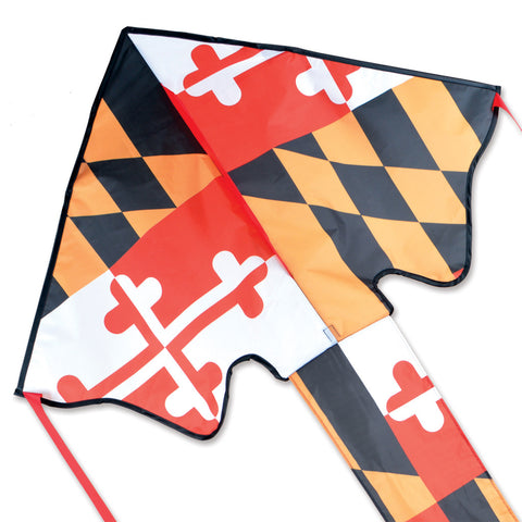 Large Easy Flyer Kite - Maryland Flag