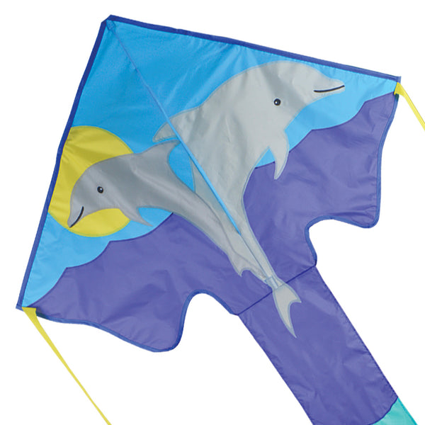 Large Easy Flyer Kite - Dolphins