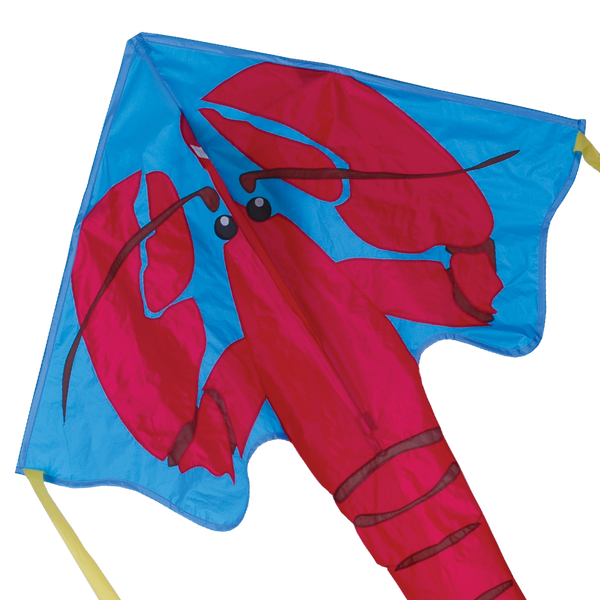 Large Easy Flyer Kite - Red Lobster