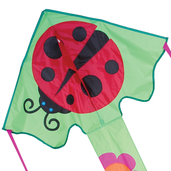 Large Easy Flyer Kite - Ms. Ladybug