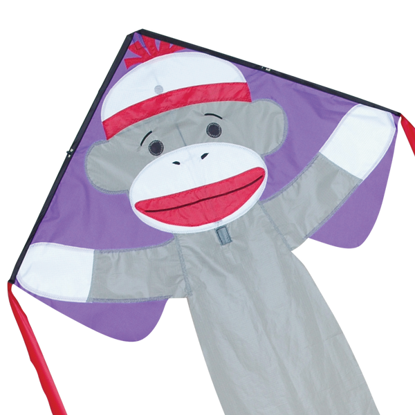 Regular Easy Flyer Kite - Sock Monkey