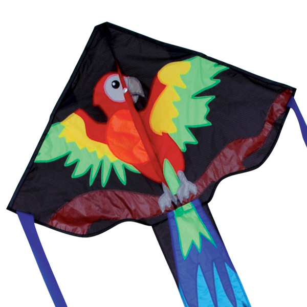 Regular Easy Flyer Kite - Happy Parrot