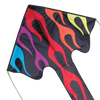 Large Easy Flyer Kite - Rainbow Flames