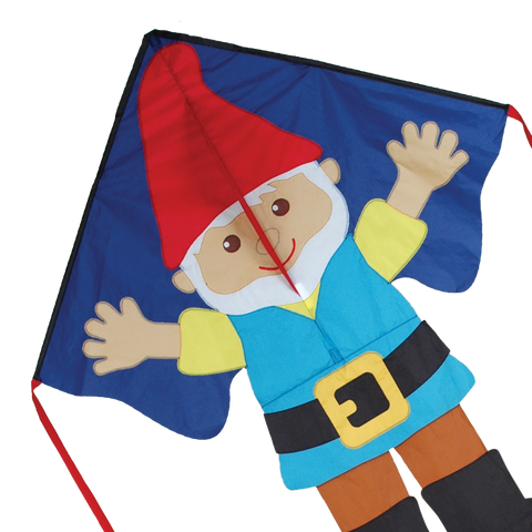 Large Easy Flyer Kite - Gnome