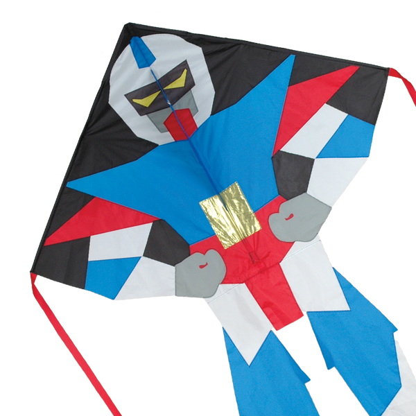Large Easy Flyer Kite - Super Bot