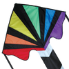 Large Easy Flyer Kite - Rainbow Fountain