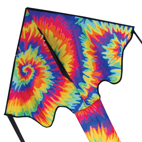 Large Easy Flyer Kite - Tie Dye