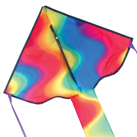 Regular Easy Flyer Kite - Wavy Gradient