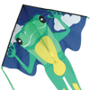 Large Easy Flyer Kite - Green Frog