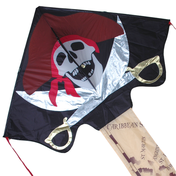 Jumbo Easy Flyer Kite - Pirate