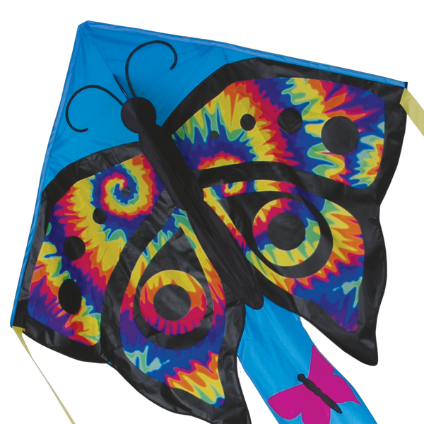 Large Easy Flyer Kite - Tie Dye Butterfly