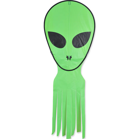 Alien Octopus Kite - Neon Green