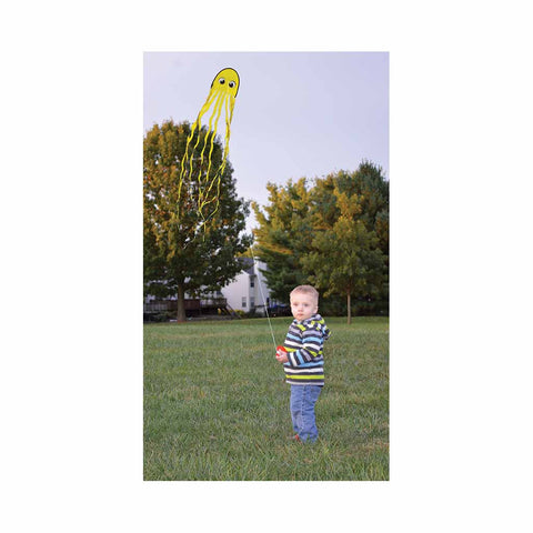 Squeaky Jr. Kite - Yellow (Pack of 12)