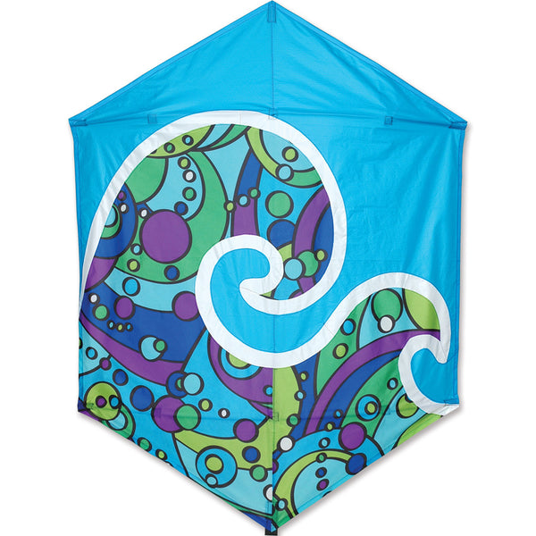 56 in. Rokkaku Kite - Cool Orbit