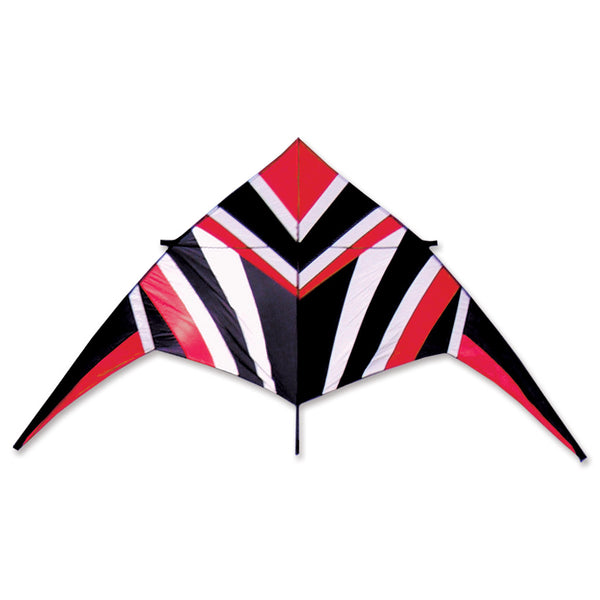 14 ft. Delta Kite - Red/White/Black