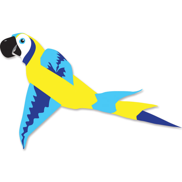 Mega Macaw Kite - Blue & Yellow