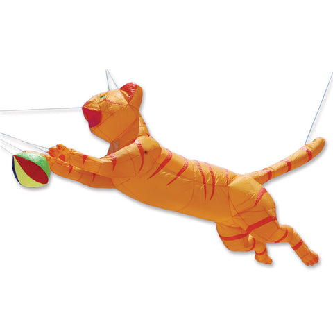 Ram Air Cat Line Device for Kites - Orange
