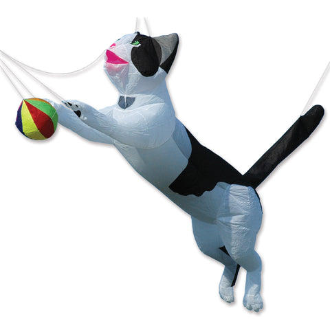 Ram Air Cat Line Device for Kites - Black & White