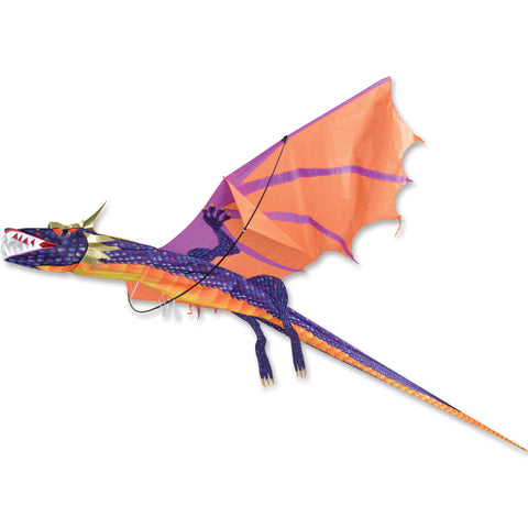 3D Dragon Kite - Sunset