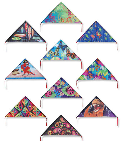 Mini Delta Assorted Pack of 24 Kites