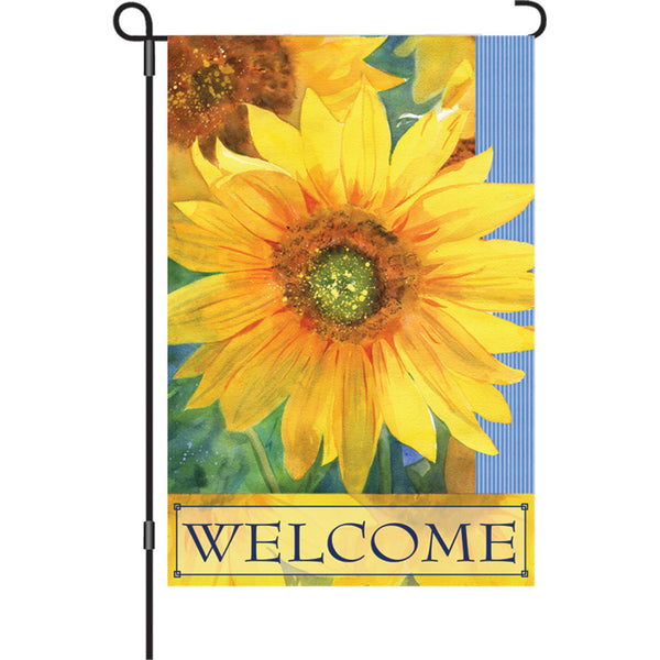12 in. Flag - Welcome Sunshine