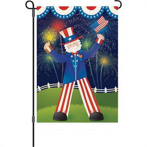 12 in. Flag - Uncle Sam's Big Day