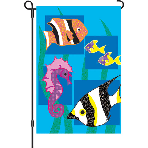 12 in. Flag - Under The Sea