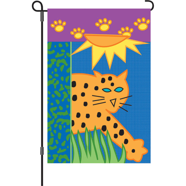 12 in. Flag - Jungle Animal