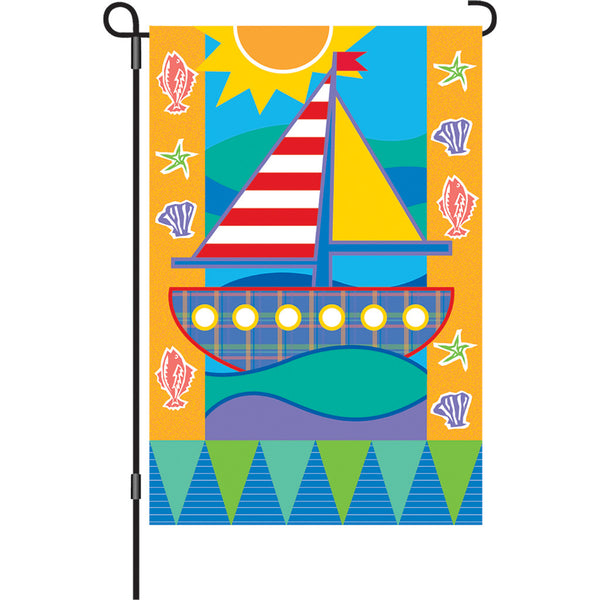 12 in. Flag - Seashore