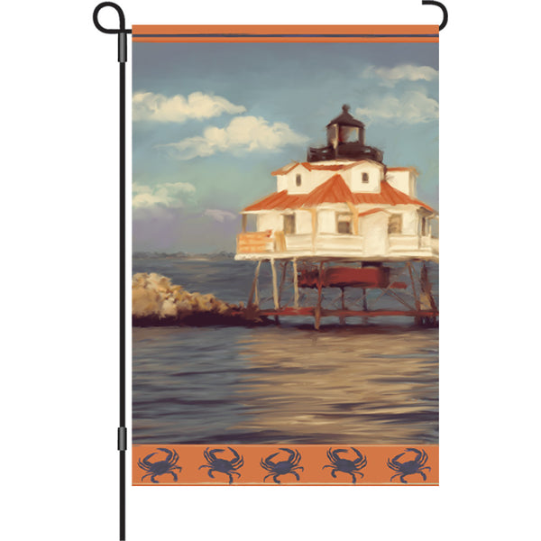 12 in. Flag - Thomas Lighthouse