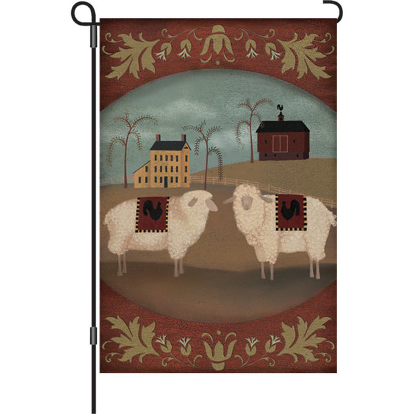 12 in. Flag - Country Homestead